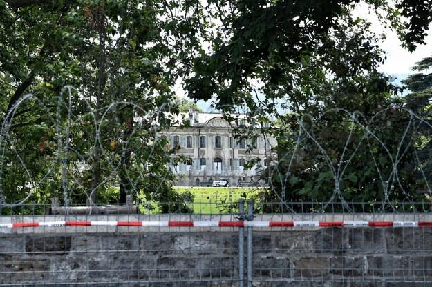 XVIII-wieczną willa  La Grange, gdzie spotkają się Biden i Putin /Paweł Balinowski /RMF FM