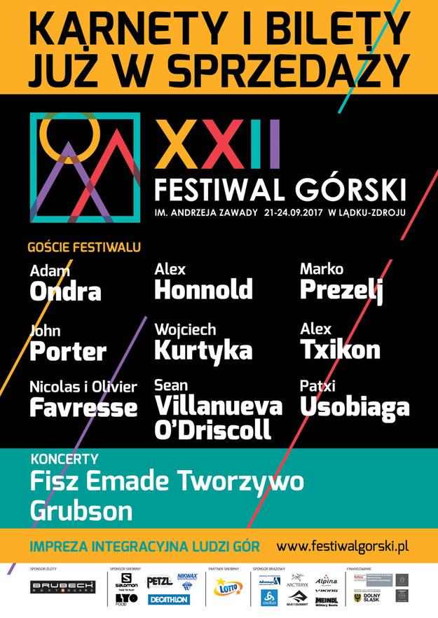 XXII Festiwal Górski w Lądku - Zdroju /Materiały prasowe