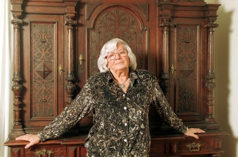 Xymena Zaniewska, rok 1999, fot. Agata Dyka /Reporter