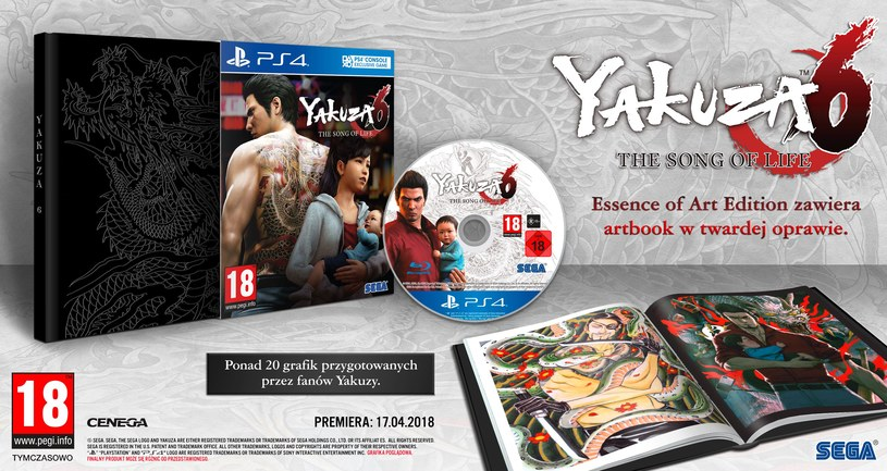 Yakuza 6 /materiały prasowe