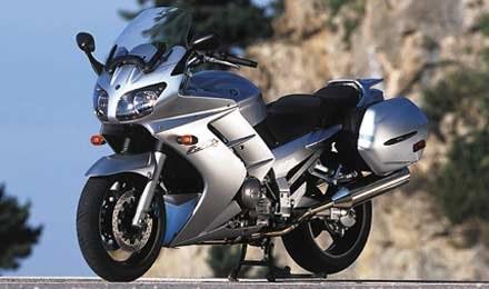 Yamaha FJR1300 - siła, jakość i pieszczota /INTERIA.PL