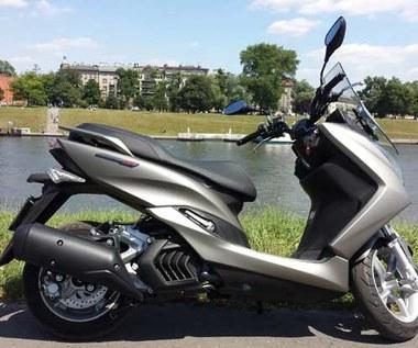 Yamaha Majesty S - skuter o mocnym charakterze