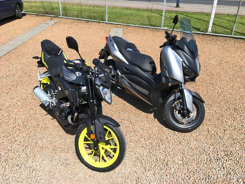 Yamaha MT-125 i X-MAX /INTERIA.PL