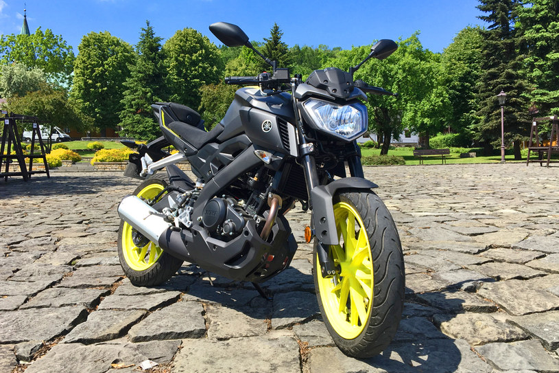 Yamaha MT-125 /INTERIA.PL