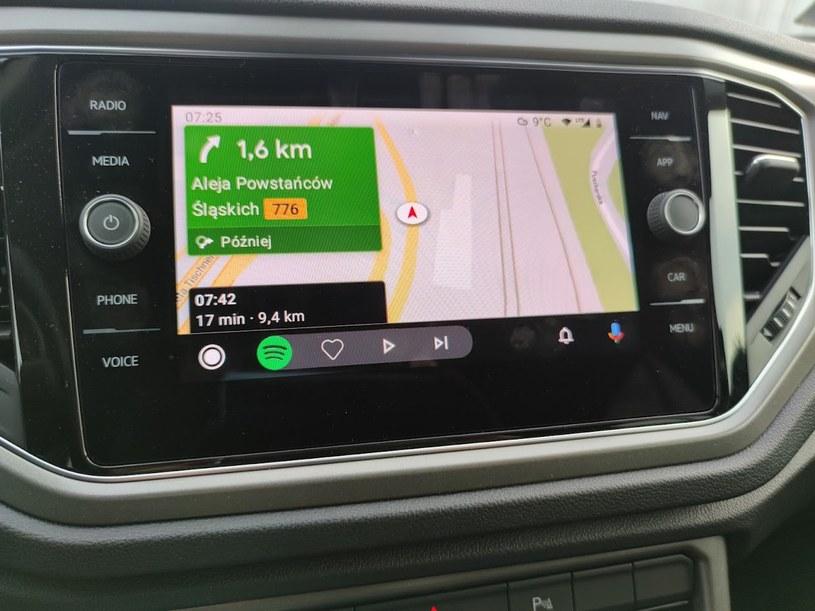 Yanosik dostępny na Android Auto /INTERIA.PL