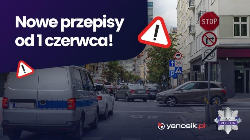 Yanosik i Policja łączą siły /materiały prasowe