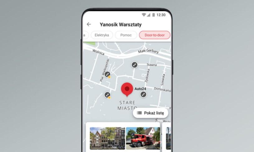 Yanosik - nowa funkcja dotycząca warsztatów samochodowych /materiały prasowe
