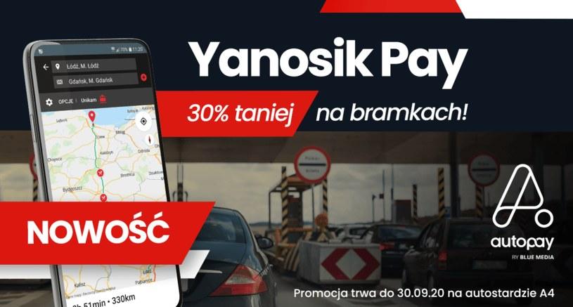 Yanosik Pay /materiały prasowe