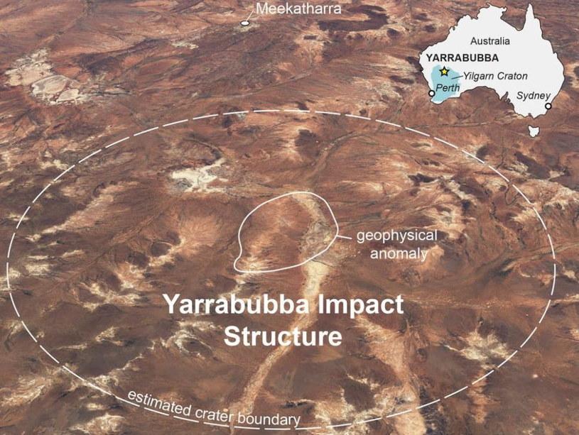 Yarrabubba - najstarszy krater uderzeniowy na Ziemi /materiały prasowe