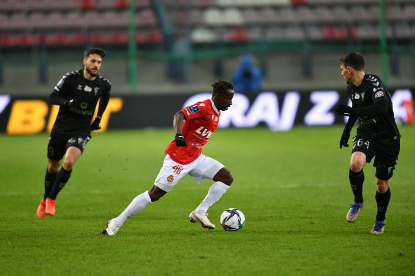 Yaw Yeboah (na pierwszym planie) /Artur Barbarowski /East News