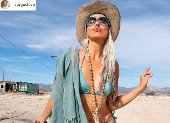 Yazemeenah Rossi ma 65 lat, ale sylwetki może jej pozazdrościć niejedna dwudziestolatka /Instagram /Instagram