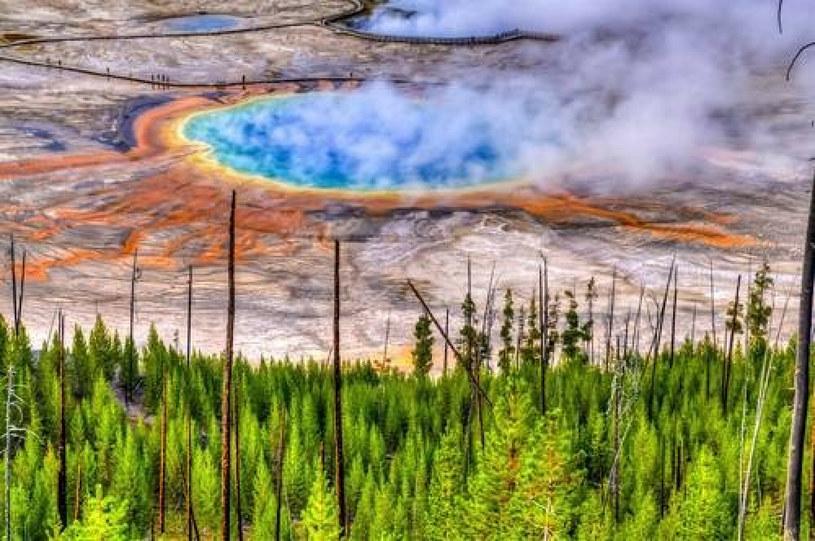 Yellowstone to jeden z najniebezpieczniejszych superwulkanów na świecie /Value Stock Images /East News