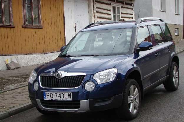 Yeti - pierwszy SUV Skody /INTERIA.PL
