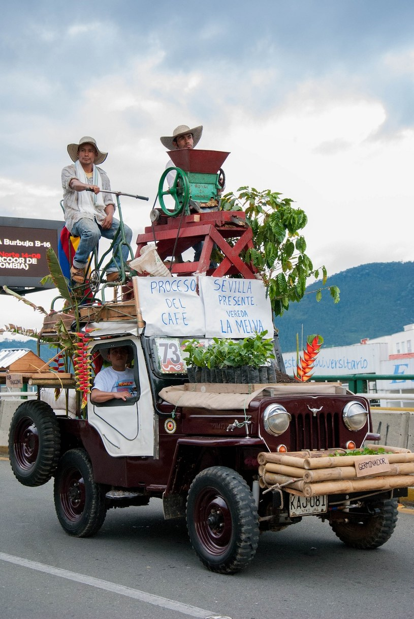Yipao - bo w Kolumbii Jeep to najlepszy przyjaciel człowieka /materiały prasowe