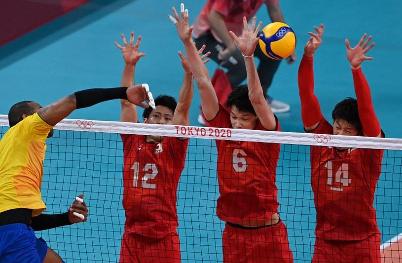 Yoandy Leal w meczu z Japonią /AFP