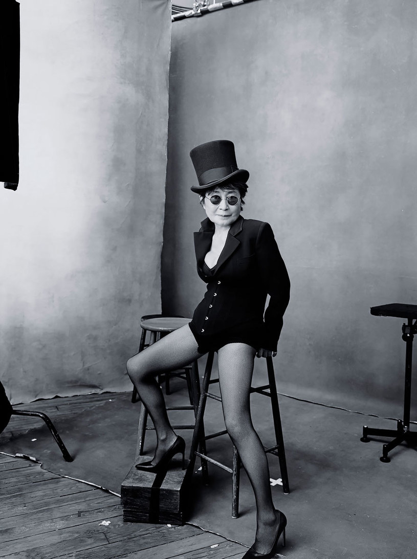 Yoko Ono /Annie Leibovitz / Pirelli /materiały prasowe