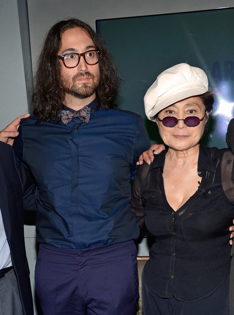 Yoko z synem, Seanem Lennonem /Getty Images
