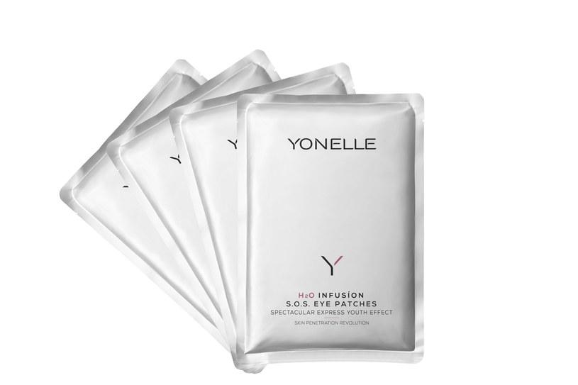 Yonelle: H₂O  Infuzyjne Płatki S.O.S. pod Oczy /materiały prasowe
