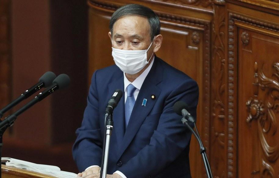 Yoshihide Suga /KIMIMASA MAYAMA /PAP/EPA