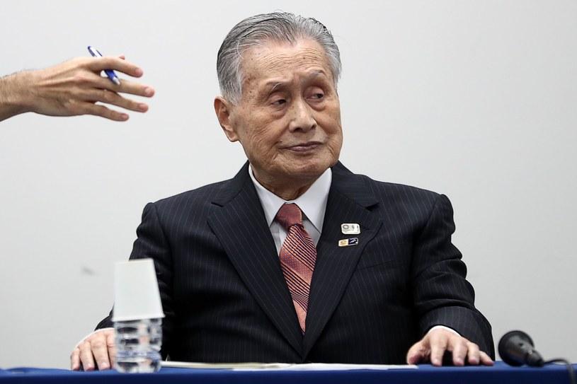 Yoshiro Mori, przewodniczący Komitetu Organizacyjnego IO w Tokio /AFP