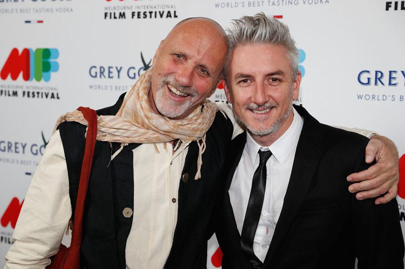 "Yossi Ghinsberg (L) z reżyserem 'Dżungli"" - Gregiem McLeanem (P) /Michael Dodge /Getty Images"