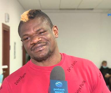 Youri Kalenga o swojej kontuzji: Taki jest boks. WIDEO (Polsat Sport)