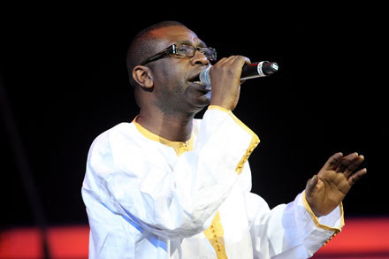 Youssou N'Dour  fot. Dave Hogan /Getty Images/Flash Press Media