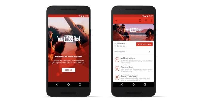 YouTube Red, płatna wersja serwisu, wystartuje w USA /materiały prasowe