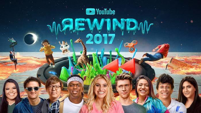YouTube Rewind 2017 /materiały prasowe