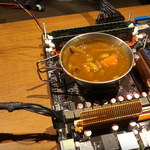 Youtuber ugotował danie na procesorze AMD