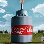 Youtuber wystrzelił 10 000 litrów Coca-Coli