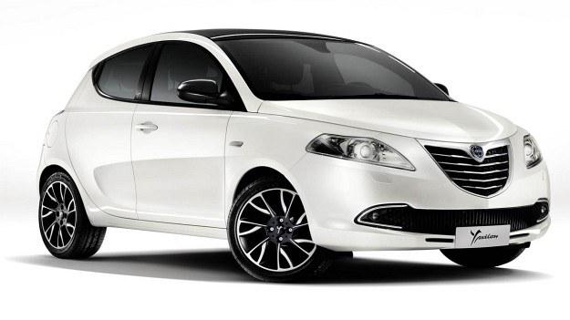 Ypsilon (fot.) pozostanie jedynym modelem Lancii. /Lancia