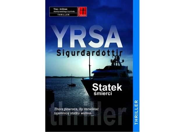 Yrsa Sigurðardóttir, Statek śmierci /materiały prasowe