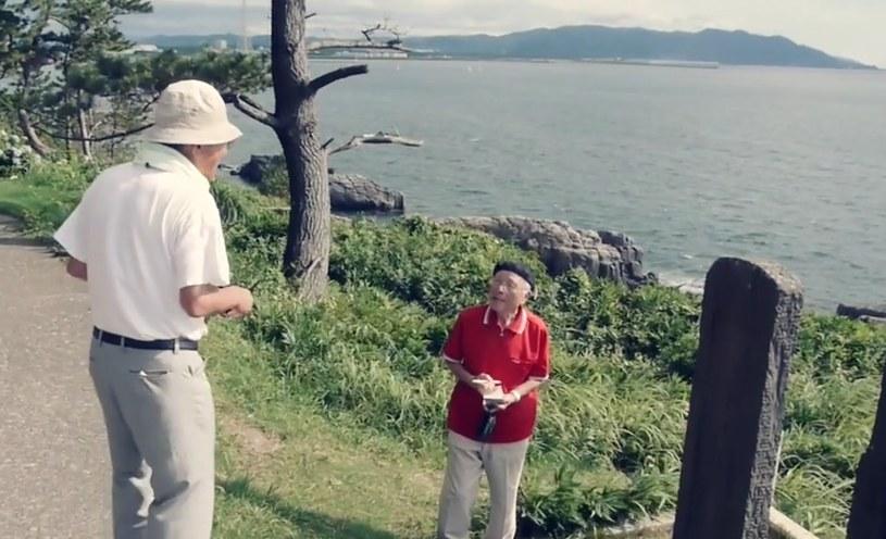 Yukio Shige potrafi rozmawiać z ludźmi. Wie, jak okazać im bezinteresowną pomoc /Vimeo /materiały prasowe