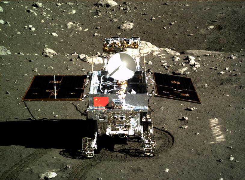Yutu na powierzchni Księżyca /materiały prasowe