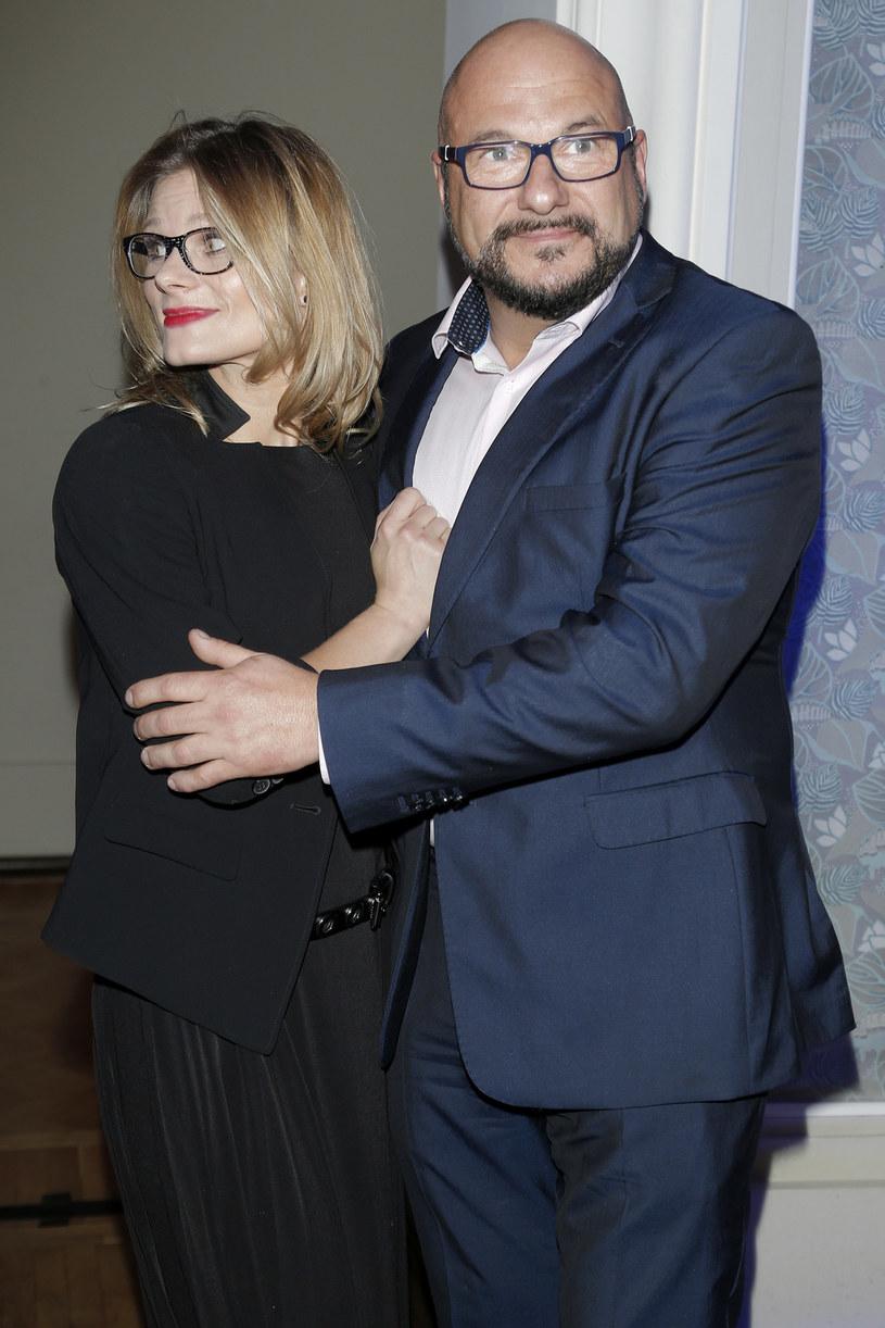 Z Anią Głogowską aktor stworzył szczęśliwy związek /Podlewski /AKPA