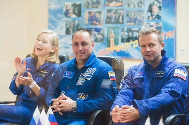 Z Bajkonuru na ISS odleci rosyjska ekipa filmowa /PAP/EPA/ANDREY SHELEPIN / GCTC / ROSCOSMOS /PAP/EPA