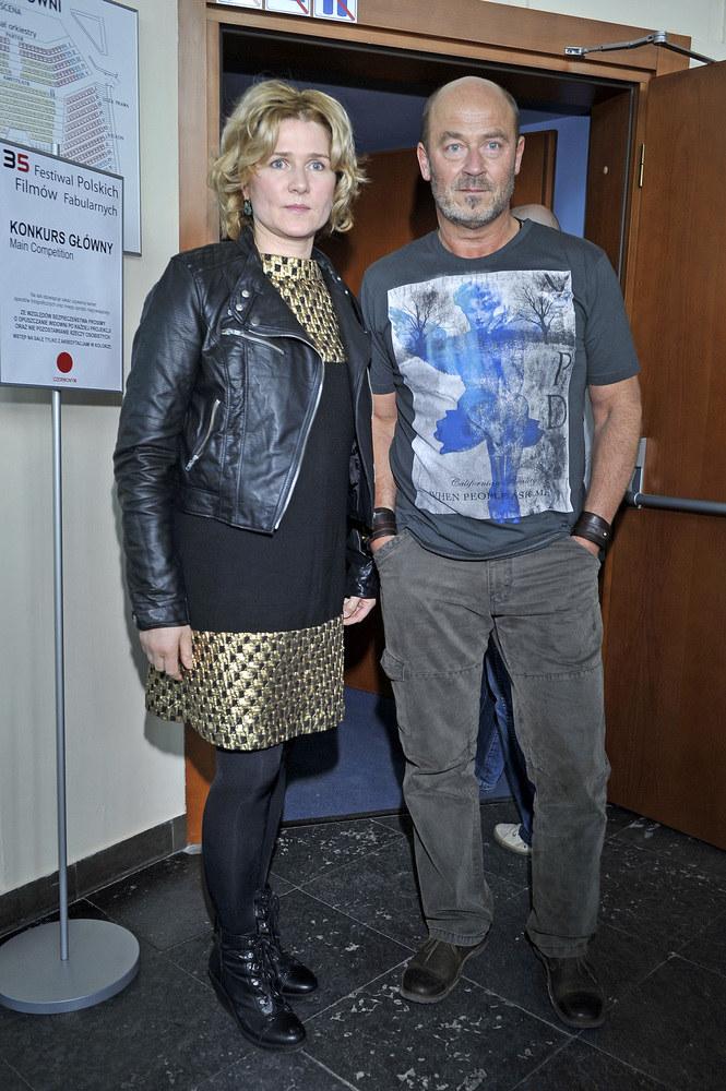 Z byłym mężem Janem Jakubem Kolskim /Jacek Kurnikowski /AKPA