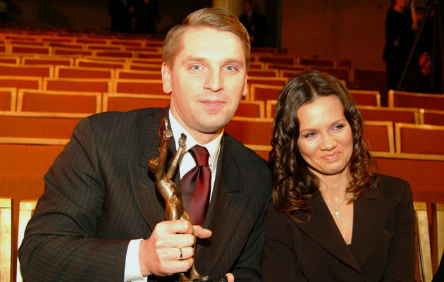 Z byłym mężem Tomaszem Lisem, fot.Niemiec  /AKPA