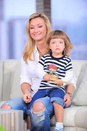 Z córeczką Marysią /Wojciech Olszanka /East News
