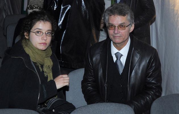 Z córką Julią, fot.Mikulski  /AKPA