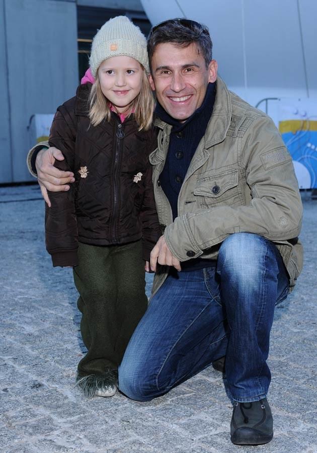 Z córką Rozalią, fot.Jarosław Antoniak  /MWMedia