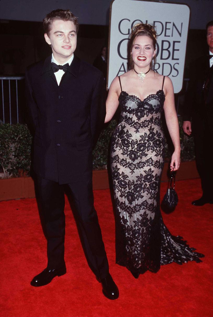 Z DiCaprio są dobrymi przyjaciółmi. W grudniu aktor poprowadził Kate do ołtarza /Getty Images/Flash Press Media