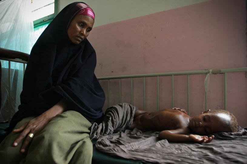 Z głodu umierają tysiące osób /AFP