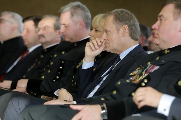 Z górnikami rozmawiał m.in. premier Donald Tusk. Fot. Dominik Gajda /Reporter