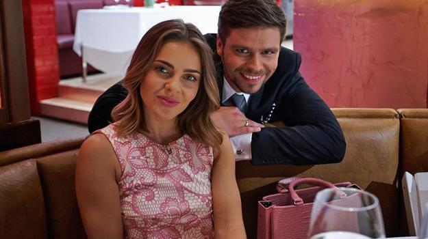 """Z kim Edyta Herbuś pojawiła się na kolacji w """"Hell's Kitchen""""? /Polsat"""