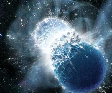 Z kolizji gwiazd neutronowych powstała nowa gwiazda neutronowa