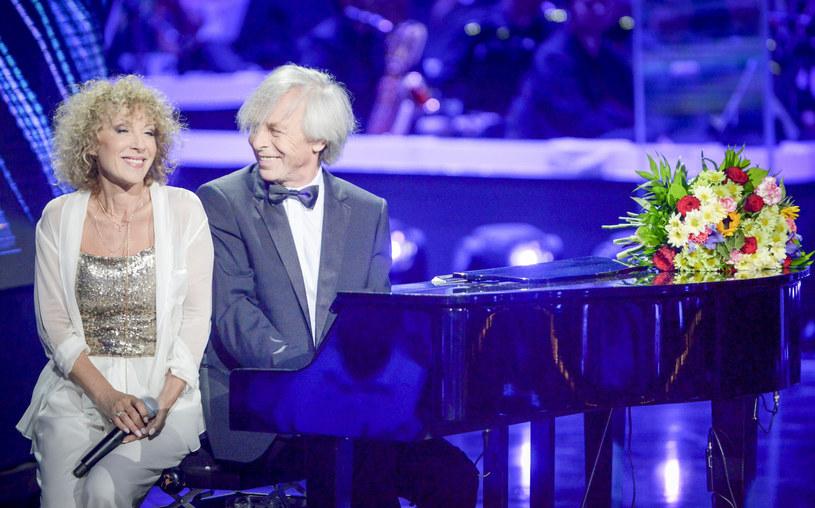 Z kompozytorem Włodzimierzem Korczem tworzą artystyczny duet od ponad 40 lat /Piotr Kamionka/REPORTER /East News