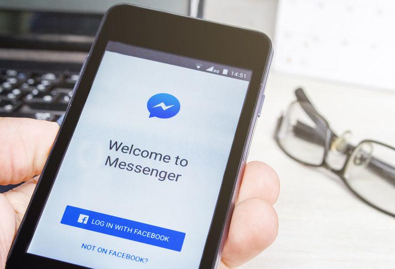 Z komunikatora Messenger korzysta regularnie na całym świecie miliard osób /123RF/PICSEL