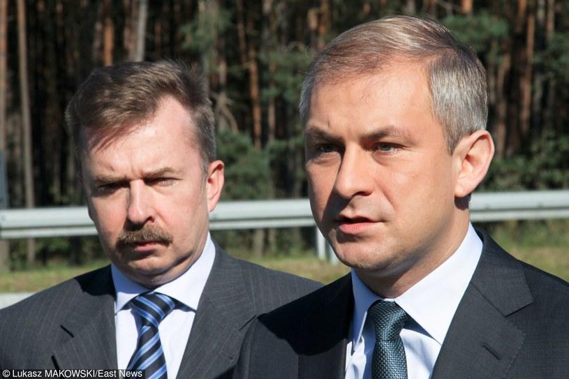 Z lewej Dariusz Wieczorek, z prawej Grzegorz Napieralski /LUKASZ MAKOWSKI /East News